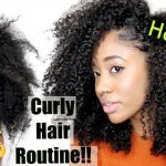 SUPER Dry to Long + Moisturized????| Updated Natural Hair Routine for Healthy Curls [Video]