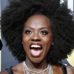 Viola Davis' Rocking A Gorgeous Fro At The Golden Globes [Pics]