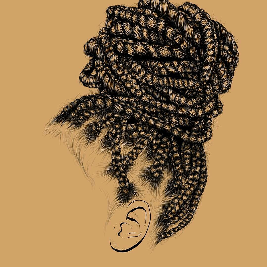 Natural Hair Art By Gaksdesigns Black Hair Information