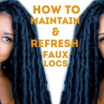 How I Maintain and Refresh My Faux Locs | Natural Hair