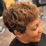 Nice classic cut and color via @experiencehairbyshana