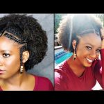 Easy Braids & Beads tutorial On Natural Hair (Alicia Keys/Fulani Inspired)