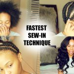 How To do Full-Sew-in in 10 Minutes Beginner Friendly [Video]