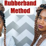 Jumbo Rope Twists (RUBBER BAND METHOD) using Ez Twin Braid Hair  [Video]