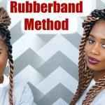 Jumbo Rope Twists (RUBBER BAND METHOD) using Ez Twin Braid Hair  [Video]