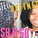 Super Defined Wash N Go Method [Video]