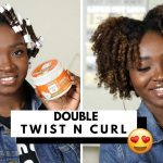 Double Twist & Curl On Natural Hair [Video]