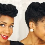 Easy Elegant Updo On Natural Hair – Perfect For Special Occasions [Video]