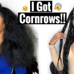 Watch Me Get Cornrows For The First Time – Lemonade Braids to the Side [Video]