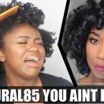 I Tried Following A Naptural85 Hair Tutorial [Video]