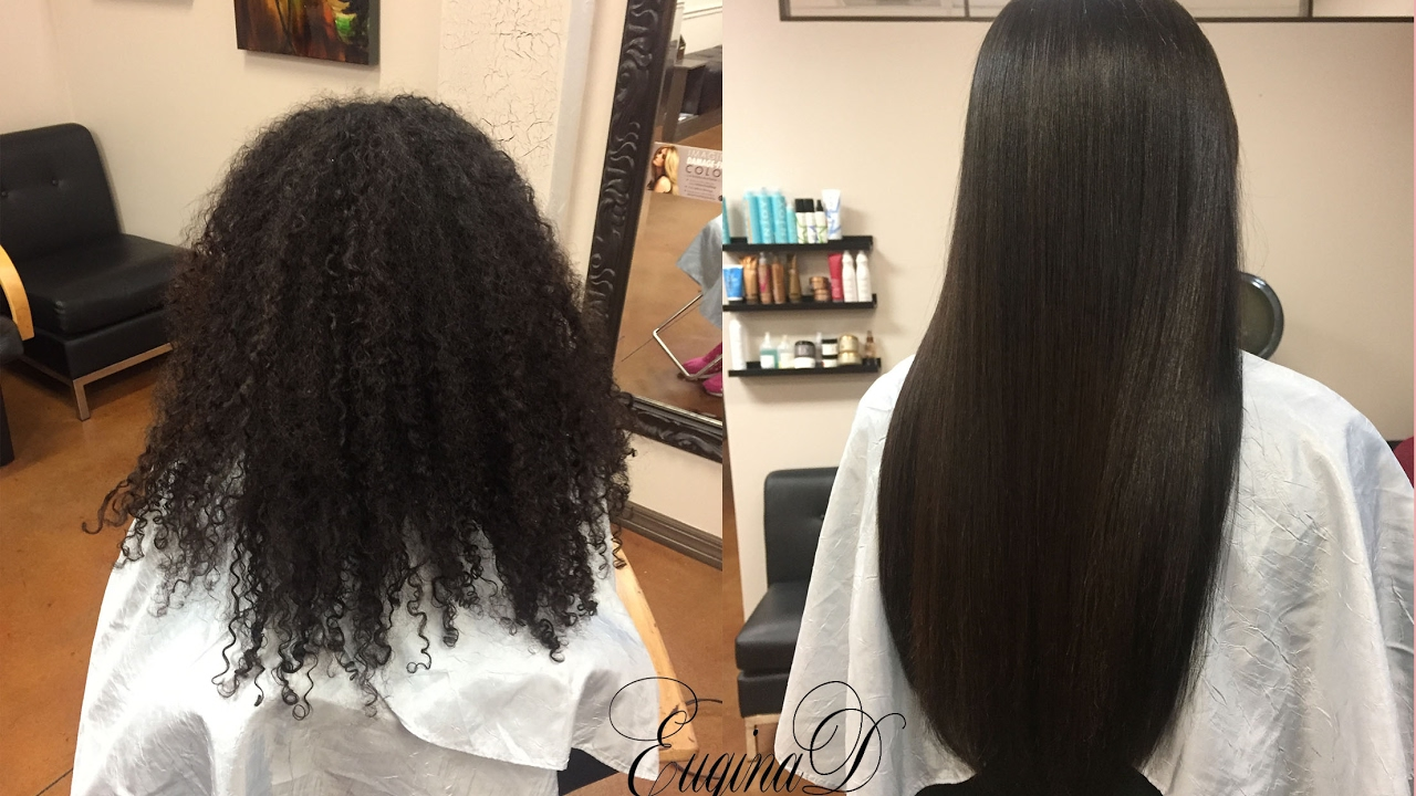 Natural Hair With Microlink Extensions Braidless Sew In