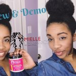 Review And Demo| Mielle Organics Babassu Oil And Mint Deep Conditioner