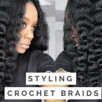 How To Do A Flexi Rod Set On Crochet Braids Using Marley Hair