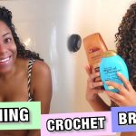 IN-DEPTH| HOW TO WASH CROCHET BRAIDS And SCALP + POST-WASH MAINTENANCE| LIA LAVON