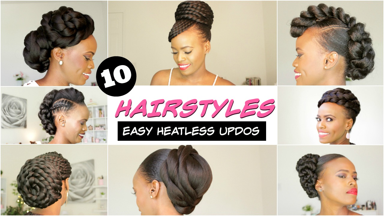 Hair Style Upload Photo: 2018 Spring & Summer Natural Hairstyles For Black Women