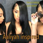 Aaliyah inspired 90s natural quick-weave [Video]