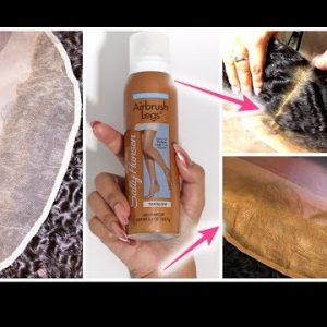 """I Just """"Bleached"""" My Frontal W/ No Bleach, No Dye, No Chemicals In Less Than 5 Minutes [Video]"""