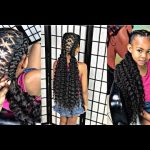 Braided Curly Cornrows – Perfect Style For Spring Break [Video]