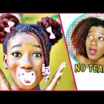 Using Kids Hair Products Only (Start to Finish!!) | This is CRAZY!! [Video]