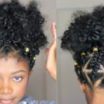 Triangle Box Braid Faux puff ball (Rubber Band Method) [Video]