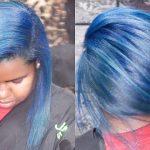 Aquarium Blue Transformation! On Curly Hair [Video]