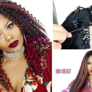 Flawless Knotless Crochet Wig On Lace Part [Video]