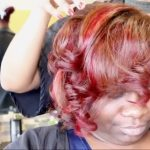 Chocolate Strawberries! Haircolor Transformation on Fine, Textured Hair [Video]