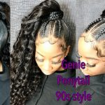 How to do a sleek High Genie Ponytail + Extra Baby Hair [Video]