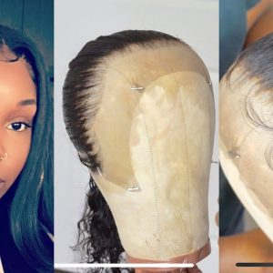 How I Customize And Make My Lace Frontal Wigs Start To Finish [Video]