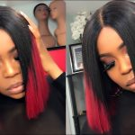 How To make a Blunt Bob Wig Start to finish Ombre 1/b Burgundy [Video]