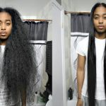 Curly to Straight Hair Tutorial [Video]