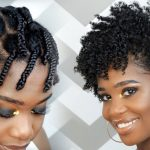 How To Do a Braid-Out on Tapered Natural Hair [Video]