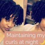 Preserving my Curls at Night | Flexi Rod Set