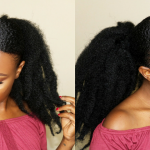 How To – Sleek Back Ponytail On Short Natural Hair [Video]