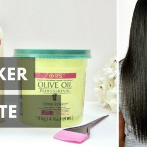 Relaxer Update On Long Relaxed Hair [Video]