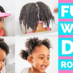 Washing Little Girls Natural Hair (Kids FULL Wash Day Routine) (Start To Finish) (3 SIMPLE Steps) [Video]