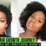 1 Year Natural Hair Journey – Includes Relaxed and Transitioning Journeys [Video]