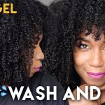 Fluffy Soft Wash And Go WITHOUT GEL – No Gel Defined Type 4 Natural Hair [Video]
