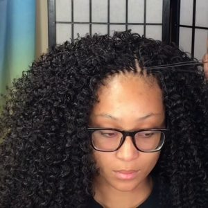 You Would Think These Crochet Braids Are Micros [Video]