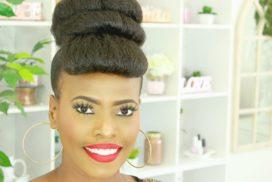 hair bun tutorial melissa erial