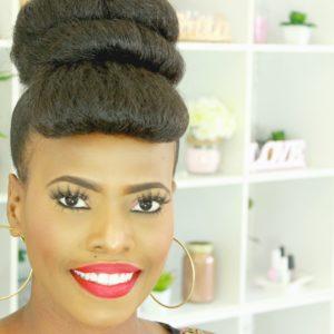 How To Hair Bun Tutorial With Faux Bang – Beginner Friendly