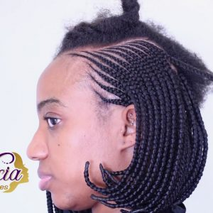 Side Bob Hairstyle Tutorial [Video]