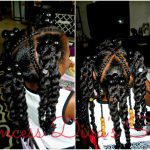Little Girls Ponytails Style Using Cuban Twist Hair [Video]