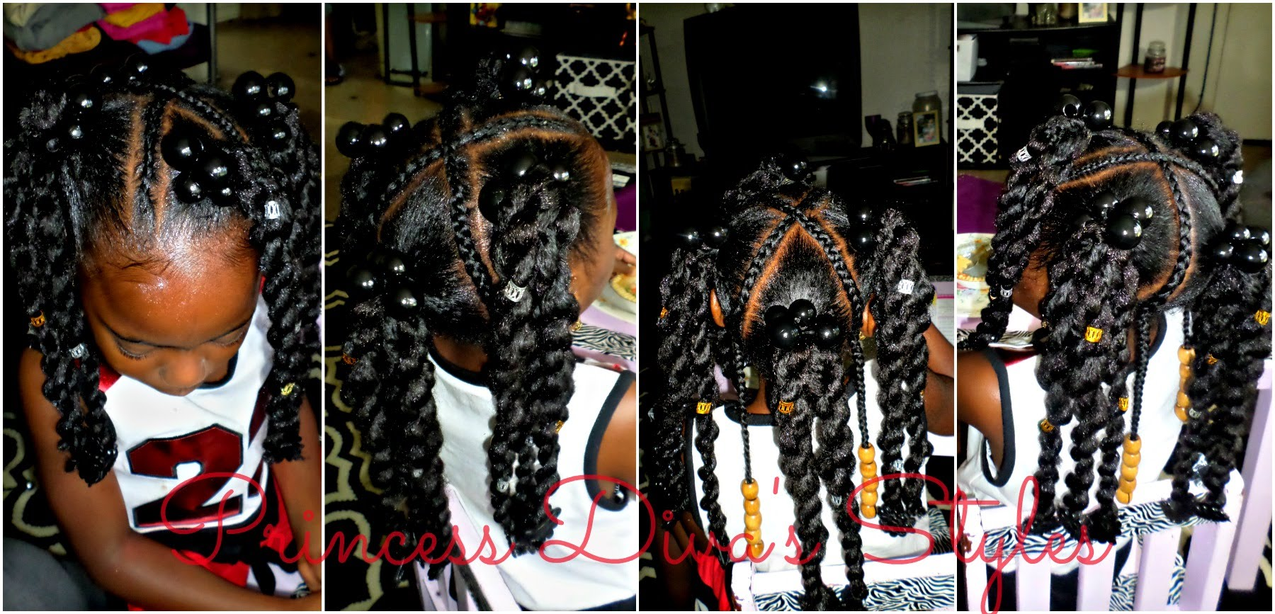 Amazing Little Girls Ponytails Style Using Cuban Twist Hair Video Natural Hairstyles Runnerswayorg