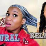 Relaxing My Natural Hair After 4 Years Natural! – Live Reaction & Experience! [Video]