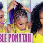 Island Vibes Ponytail With Braids & Beads [Video]