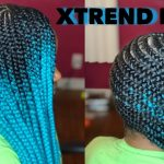 Lemonade Braids on 4C Hair Using Only Edge Control [Video]