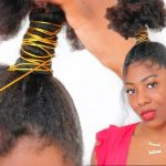 How To: Genie Ponytail On Natural Hair [Video]