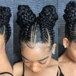 "How to do Nicki Minaj inspired 'Chun li"" feed-in braids using only edge control [Video]"