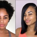 How I Silk Press My Natural Hair – No Heat damage & No Frizzy Ends [Video]